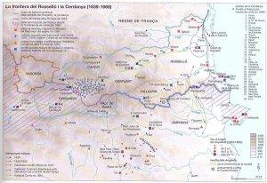 tratado de pirineos - frontera
