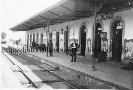 Seppelt en la Estación de Ferrocarril de Elvas el 20 de julio de 1936. El autor de la foto es su compañero Basil Gee