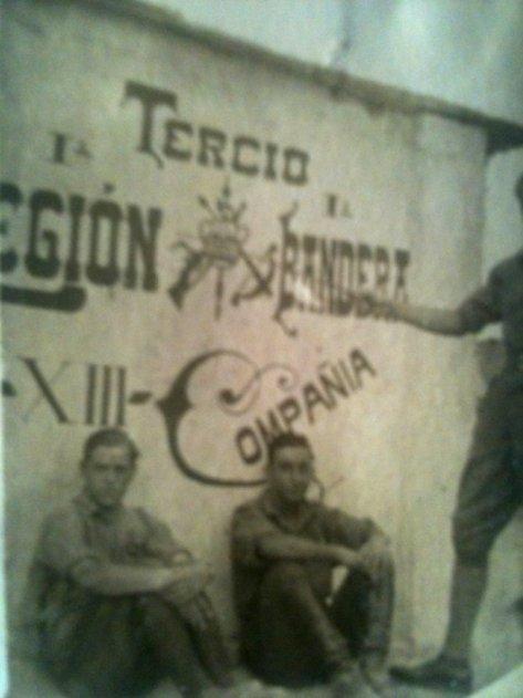 Caballero legionario, Tte. Luis Saliquet. Melilla, 1923