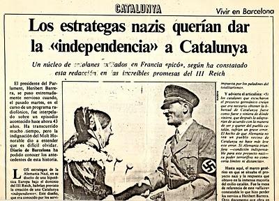 Resultado de imagen para barcelona nazi GRIAL