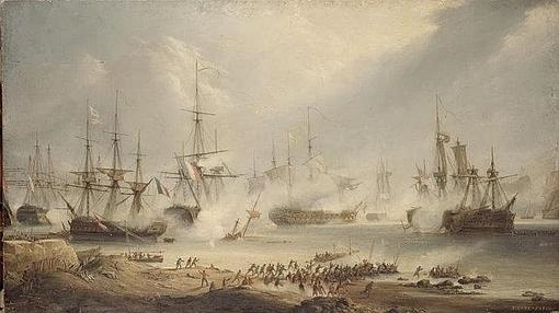 Batalla de Algeciras en la que luchó Lucas