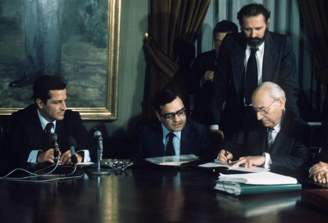 Pactos de La Moncloa. (EFE)