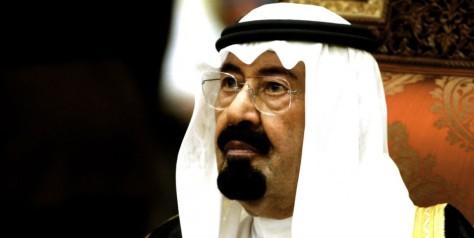 El rey Abdalá de Arabia Saudí.