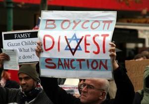 Boicot a Israel.  Foto: Wikimedia Commons.