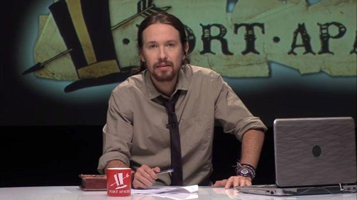 Foto: El líder de Podemos, Pablo Iglesias, en el programa Fort Apache. (YouTube)