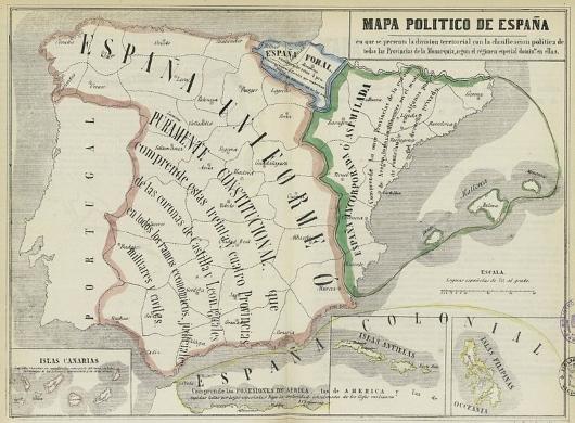 España en 1850