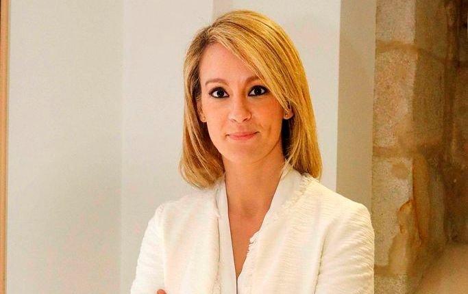 María Jamardo, en la presentación de El Club de los Viernes.