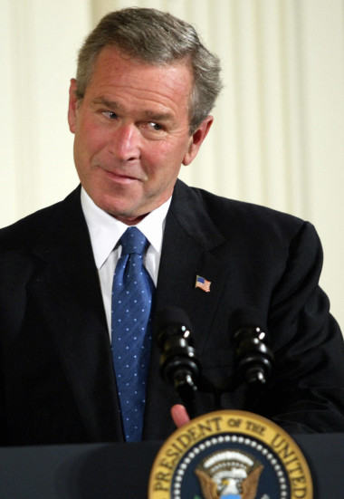 Former U.S. President George W. Bush | Tim Sloan/AFP/Getty Images