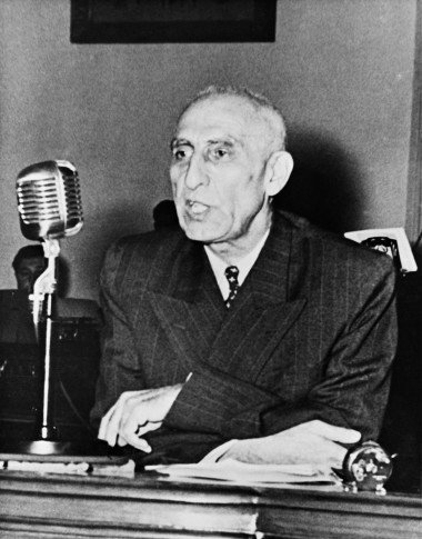 Mohammed Mosaddegh, the democratically elected Prime Minister of Iran from 1951-1953, pictured left in 1951, the same year he was named TIME Person of the Year, right. His tenure was cut short by a United States-led coup in 1953, which installed Shah Reza Pahlavi