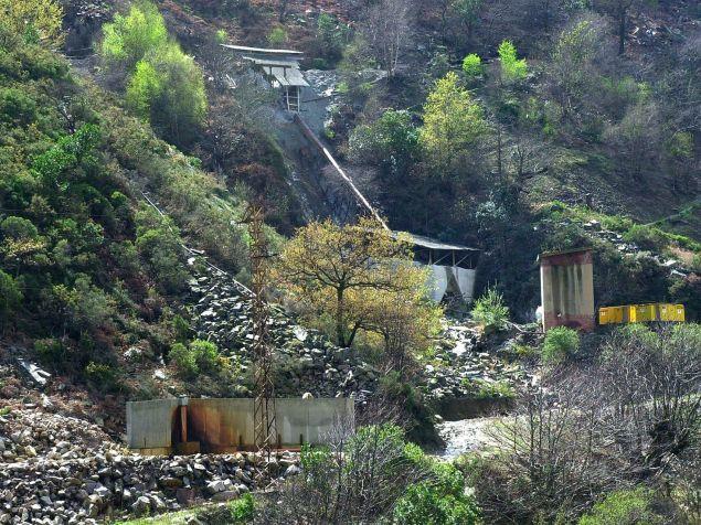 Imagen general de la mina donde trabajó hasta octubre de 2002 Suárez Trashorras.