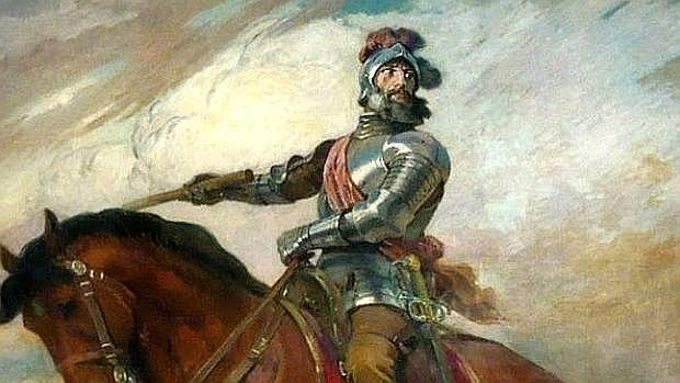 Retrato ecuestre de Francisco de Pizarro