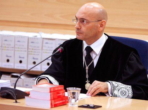 El presidente del tribunal del 11-M, Javier Gómez Bermúdez.