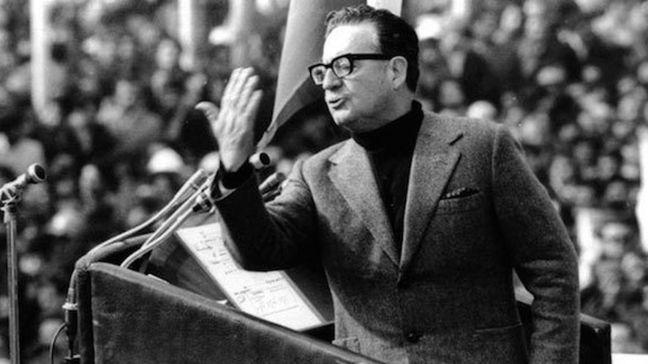 El presidente chileno Salvador Allende Gossens (1908-1973)