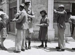 Israel pre-estatal / Mandato Británico de Palestina, 1947. Foto: Wikipedia.