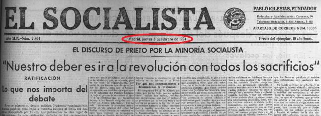 El Socialista 8-2-1934