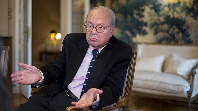 José Miguel Ortí Bordás, durante la entrevista
