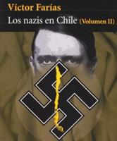 Detalle de la portada de la segunda parte de NAZIS EN CHILE (Seix Barral).