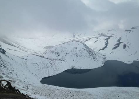 La Laguna del Sol, en el Nevado de Toluca.