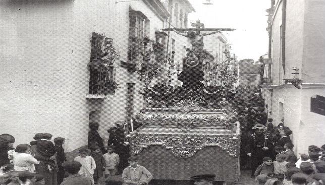 Antiguo crucificado de la Salud, de la hermandad de San Bernardo