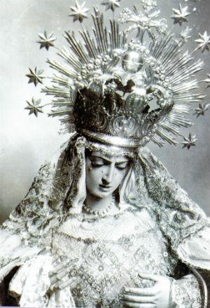 La desaparecida Virgen de las Angustias de los Gitanos