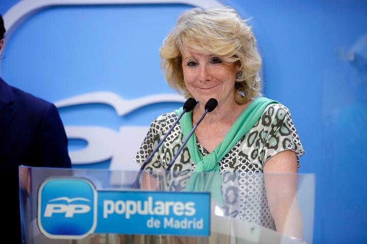 Esperanza Aguirre / Flickr PP Madrid
