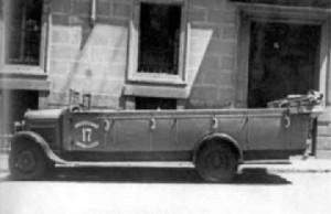 Camioneta de la Guardia de Asalto en que el pistolero socialista Cuenca asesinó a Calvo Sotelo