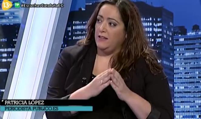 Resultado de imagen de Patricia López publico