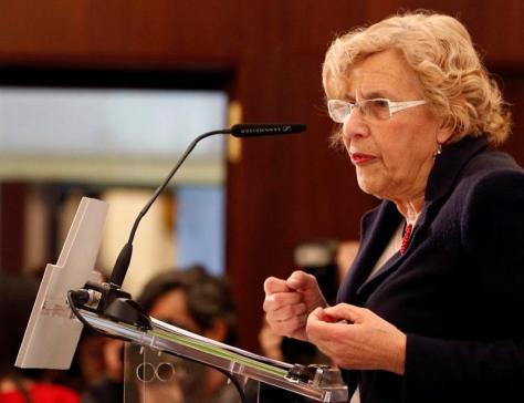 La alcaldesa de Madrid, Manuela Carmena/ EFE