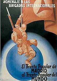 Resultado de imagen de Círculo de Bellas Artes de Madrid exposición las Brigadas Internacionales