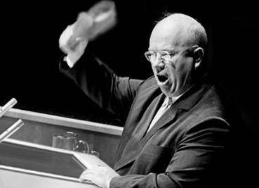 Resultado de imagen de kruschev zapato