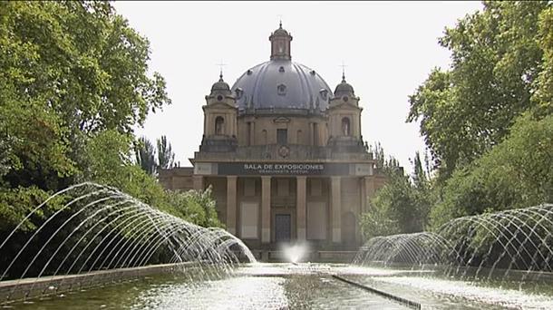 Monumento a los caídos en Pamplona en los que reposan los restos de de Mola y Sanjurjo