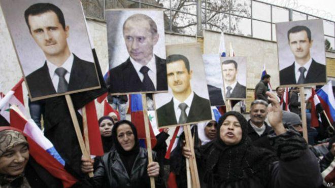 Resultado de imagen de rusia siria