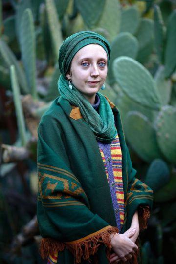 Mariam Sakina, musulmana conversa de 22 años, habitante de Orgiva. Fuente: El País