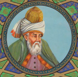 Yalal ad Din al Rumi. Fuente: Rumi's World