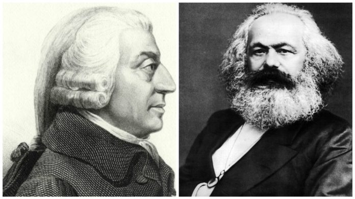 adam smith karl marx