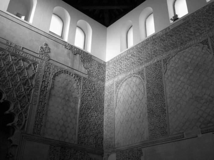 Interior de la sinagga de Córdoba. Fotografía: Zarateman (CC).