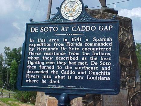 placa en Caddo Cap, Arkansas