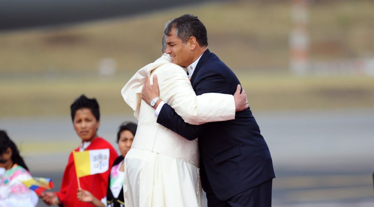 Image result for papa francisco correa