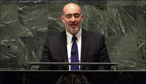 Magistral discurso del Embajador de Israel en la ONU