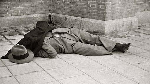Fotografía del cadáver tiroteado de Calvo Sotelo