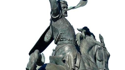 Estatua del Cid a caballo