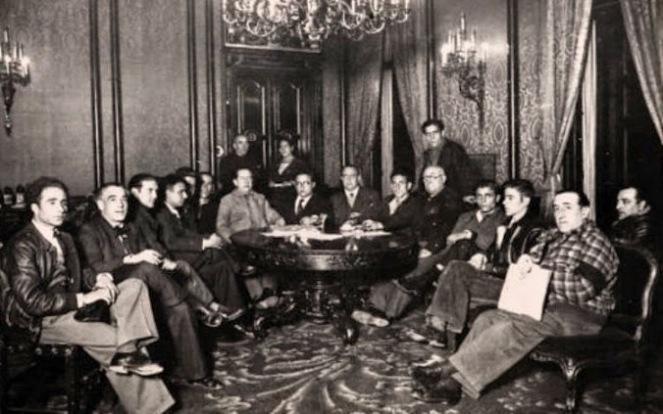 Resultado de imagen de junta de defensa madrid 1936