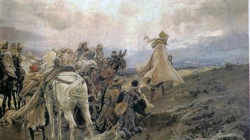 Cuadro de Francisco Padilla «El suspiro del moro»