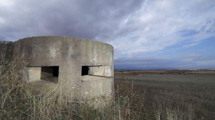 Foto: Un bunque de la Guerra Civil abandonado en Tosos, Zaragoza. (iStock)