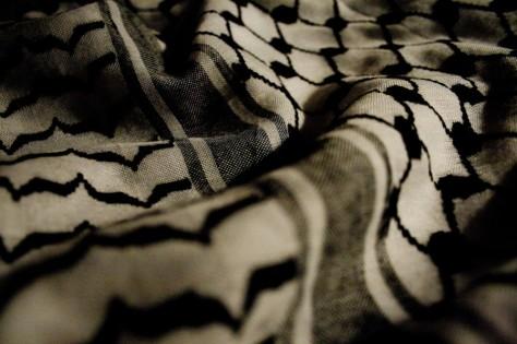 Kefia palestina.