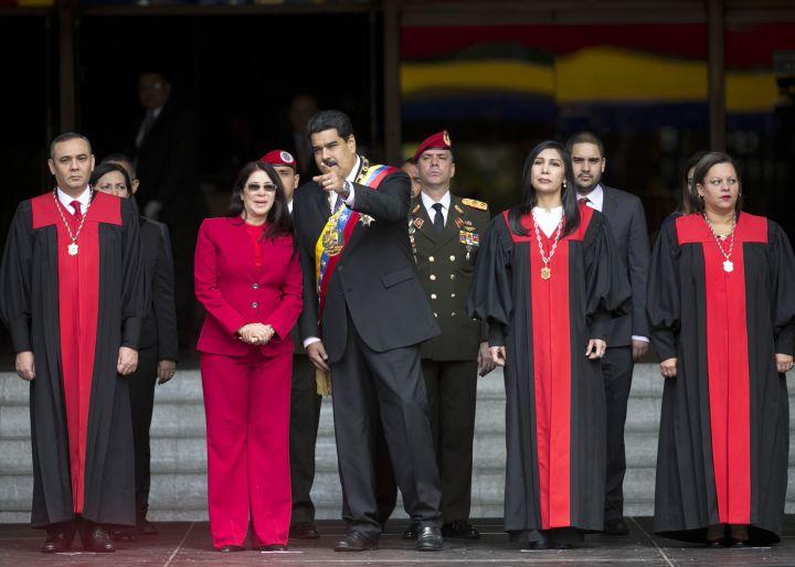 Resultado de imagen de Maduro tribunal supremo asesino