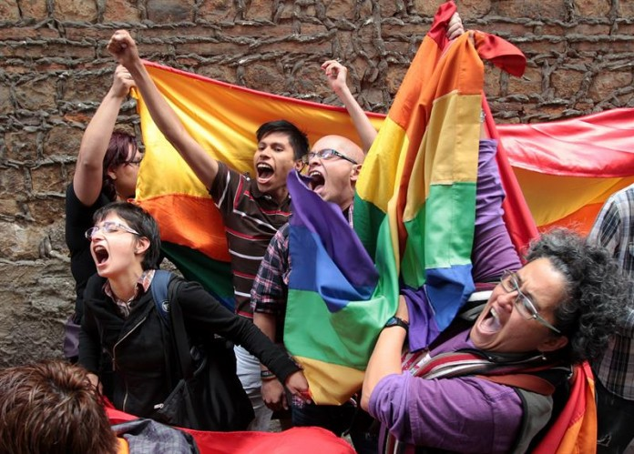 Manifestación del lobby gay en Bogotá (Colombia) en junio de 2013 /Efe - Mauricio Dueñas