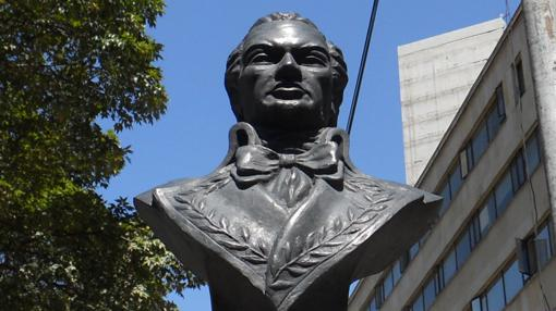 Busto de Francisco de Miranda en Bogotá