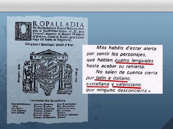 Resultado de imagen de lengua gascona y catalana quijote