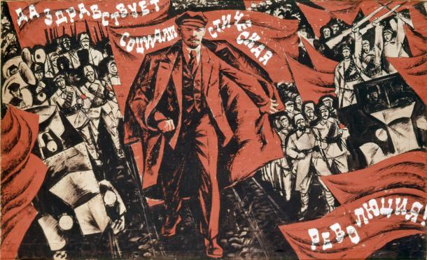 lenin-poster-revolucion-1917